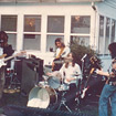 Outdoor party 1973